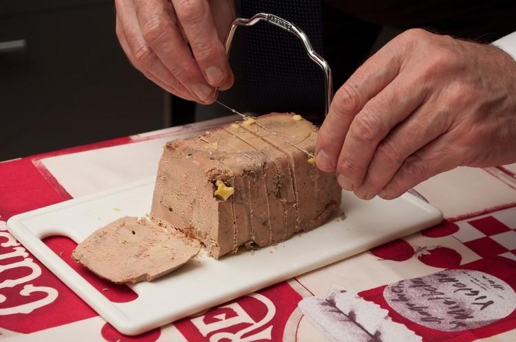 Lyre pour la découpe du foie gras