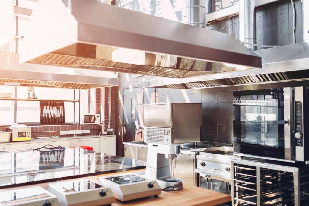 micro-onde en cuisine professionnelle