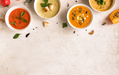4 délicieuses soupes à faire avec un blender chauffant